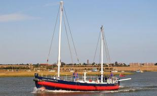 The James Stevens No 14 is still in operation off the coast of Essex |  Image copyright Frinton and Walton Heritage Trust